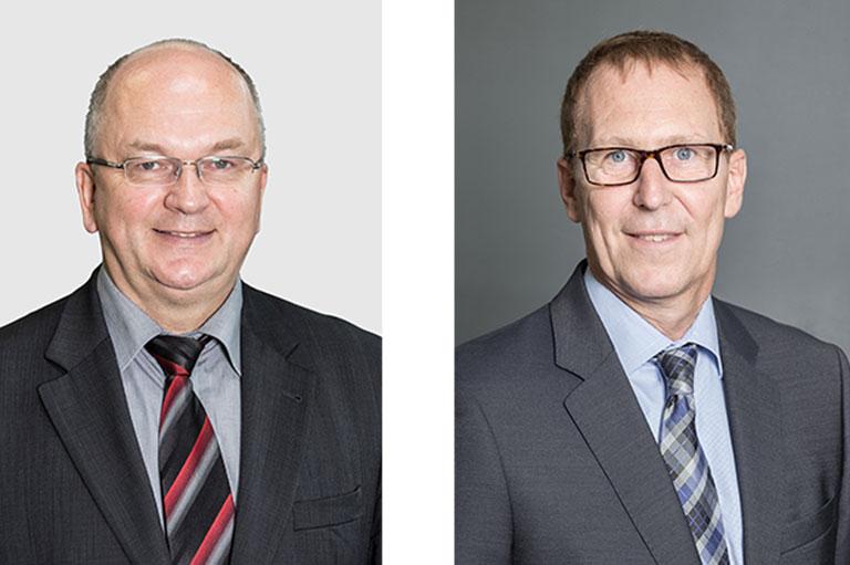 links: Dr. Gerherd Köhler | rechts: Peter Warns